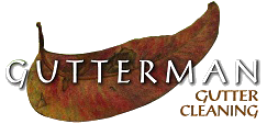 a gutterman gutter cleaning logo